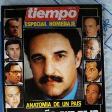 Coleccionismo de Revista Tiempo: REVISTA TIEMPO (ESPECIAL HOMENAJE). Lote 276125333