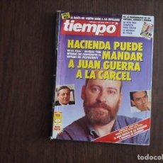 Coleccionismo de Revista Tiempo: REVISTA TIEMPO, Nº 421 28 MAYO 1990. HACIENDA PUEDE MANDAR A JUAN GUERRA A LA CARCEL.. Lote 278512808
