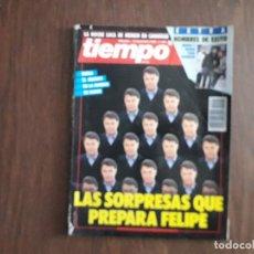Coleccionismo de Revista Tiempo: REVISTA TIEMPO, Nº 445 12 NOVIEMBRE DE 1990. LAS SORPRESAS QUE PREPARA FELIPE.. Lote 278513108