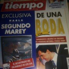 Coleccionismo de Revista Tiempo: REVISTA TIEMPO BODA INFANTA, ENTREVISTA FUNDADOR ETA. Lote 286993933
