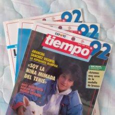 Coleccionismo de Revista Tiempo: TIEMPO 92 CON LOS Nº 3, 4 Y 5. Lote 287802058