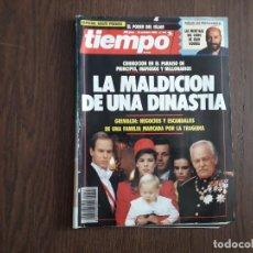 Coleccionismo de Revista Tiempo: REVISTA TIEMPO, Nº 442, 15 OCTUBRE 1990. LA MALDICIÓN DE UNA DINASTÍA, LOS GRIMALDI.. Lote 296730773