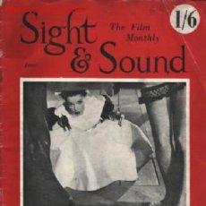 Coleccionismo de Revistas y Periódicos: SINGT & SOUND THE FILM MONTHLY .. JUNIO 1951 .. FOTOGRAFIAS A B/N. Lote 16361292