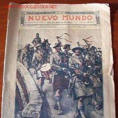 Coleccionismo de Revistas y Periódicos: REVISTA NUEVO MUNDO, 27 DE JULIO DE 1917. Lote 11172094