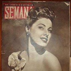 Coleccionismo de Revistas y Periódicos: REVISTA SEMANA.. Lote 7854450