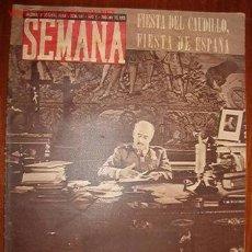 Coleccionismo de Revistas y Periódicos: REVISTA SEMANA.. Lote 7403370
