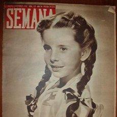 Coleccionismo de Revistas y Periódicos: REVISTA SEMANA.. Lote 13264263