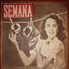 Coleccionismo de Revistas y Periódicos: REVISTA SEMANA.. Lote 11352177