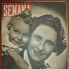 Coleccionismo de Revistas y Periódicos: DIARIO SEMANA, CON NOTÍCIAS DE LA 2ª GUERRA MUNDIAL. Lote 9033408