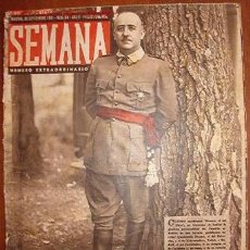 Coleccionismo de Revistas y Periódicos: DIARIO SEMANA, CON NOTÍCIAS DE LA 2ª GUERRA MUNDIAL. Lote 8629445
