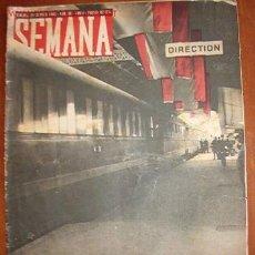 Coleccionismo de Revistas y Periódicos: DIARIO SEMANA, CON NOTÍCIAS DE LA 2ª GUERRA MUNDIAL. Lote 18547496