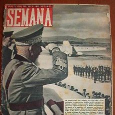 Coleccionismo de Revistas y Periódicos: DIARIO SEMANA, CON NOTÍCIAS DE LA 2ª GUERRA MUNDIAL. Lote 18565205