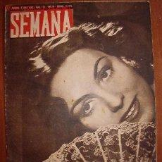 Coleccionismo de Revistas y Periódicos: DIARIO SEMANA, CON NOTÍCIAS DE LA 2ª GUERRA MUNDIAL. Lote 10081337