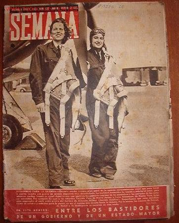 DIARIO SEMANA, CON NOTÍCIAS DE LA 2ª GUERRA MUNDIAL (Coleccionismo - Revistas y Periódicos Modernos (a partir de 1.940) - Otros)