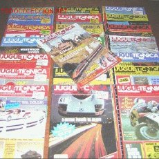 Coleccionismo de Revistas y Periódicos: TOT MAGAZINE - JUGUETECNICA - LOTE 22 REVISTAS - MODELISMO. Lote 25483794