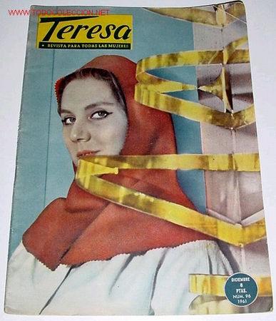 ANTIGUA REVISTA TERESA 1961 (Coleccionismo - Revistas y Periódicos Modernos (a partir de 1.940))