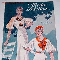 Coleccionismo de Revistas y Periódicos: ANTIGUA REVISTA DE MODA - MODA PRACTICA - ABRIL 1933 . Lote 14103028