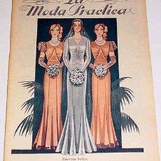 Coleccionismo de Revistas y Periódicos: ANTIGUA REVISTA DE MODA - MODA PRACTICA - ABRIL 1932. Lote 10576844