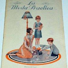 Coleccionismo de Revistas y Periódicos: ANTIGUA REVISTA DE MODA - MODA PRACTICA - JUNIO 1931. Lote 13931440