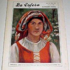 Coleccionismo de Revistas y Periódicos: REVISTA LA ESFERA Nº 339 - 1920. Lote 594352