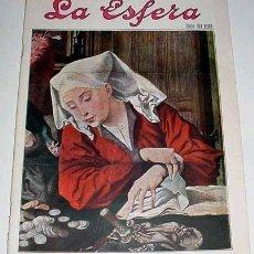 Coleccionismo de Revistas y Periódicos: REVISTA LA ESFERA Nº 709 - 1927. Lote 10824522
