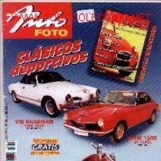 Coleccionismo de Revistas y Periódicos: 17-202. REVISTA AUTO FOTO Nº 58. JUNIO 2001. Lote 207763