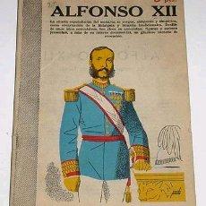 Coleccionismo de Revistas y Periódicos: ANTIGUA REVISTA ALFONSO XII - REVISTA LITERARIA Nº 1179. Lote 929488