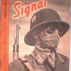 Coleccionismo de Revistas y Periódicos: UXW SIGNAL 2º NUMERO DE JUNIO DE 1941 SP Nº 12 GUERRA MUNDIAL REVISTA ALEMANIA NAZISMO. Lote 24494732