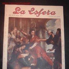 Coleccionismo de Revistas y Periódicos: REVISTA LA ESFERA AÑO VI -NUM 296,30 DE AGOSTO DE 1919. Lote 1388826