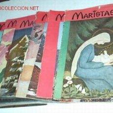 Collezionismo di Riviste e Giornali: REVISTAS MARISTAS - LOTE DE 17 REVISTAS MUY BUSCADAS DE LOS AÑOS 60-61 Y 62-LIQUIDACION. Lote 20384670