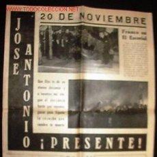 Coleccionismo de Revistas y Periódicos: PERIÓDICO ¡SI! PERIÓDICO DE LA GUARDIA DE FRANCO, NOVIEMBRE DE 1949.. Lote 3638746