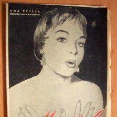 Coleccionismo de Revistas y Periódicos: MARISOL Nº 18 - SEMANARIO DE LA MUJER - JUNIO 1954. Lote 19128720