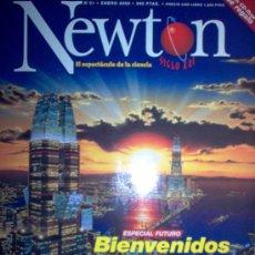Coleccionismo de Revistas y Periódicos: REVISTA NEWTON - Nº 21 - ENERO 2000. Lote 3292229