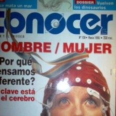 Coleccionismo de Revistas y Periódicos: REVISTA CONOCER Nº158 - MARZO 1996. Lote 3292264
