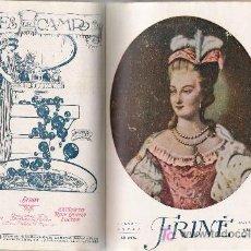 Coleccionismo de Revistas y Periódicos: TOMO ENCUADERNADO DE LA REVISTA FEMENINA FRINÉ - 1918. Lote 23449233