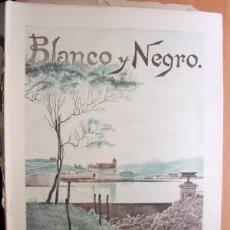 Coleccionismo de Revistas y Periódicos: BLANCO Y NEGRO Nº 434 - MADRID 26 AGOSTO 1899 - 24 PÁGINAS - LA CORTE EN VERANO: MIRAMAR. Lote 24592191
