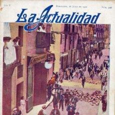 Coleccionismo de Revistas y Periódicos: LA ACTUALIDAD REVISTA 1910. Lote 7680652