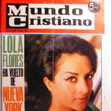 Coleccionismo de Revistas y Periódicos: MUNDO CRISTIANO. AÑO III Nº 27 ABRIL 1965. Lote 21198878
