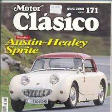 Coleccionismo de Revistas y Periódicos: 17-189. REVISTA MOTOR CLÁSICO Nº 171. ABRIL 2002. Lote 4203229