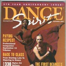 Coleccionismo de Revistas y Periódicos: DANCE SPIRIT IX/2002 REVISTA DE DANZA. Lote 4219756