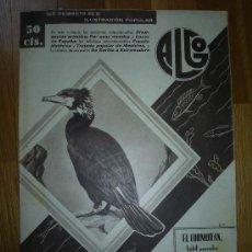 Coleccionismo de Revistas y Periódicos: REVISTA ALGO. ILUSTRACIÓN POPULAR - 1935 * CARMONA * PAÍS VASCO *. Lote 21683672