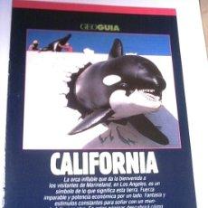 Coleccionismo de Revistas y Periódicos: GEO GUIA - CALIFORNIA - 1991. Lote 4455121