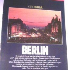 Coleccionismo de Revistas y Periódicos: GEO GUIA - BERLIN - 1991. Lote 4455135