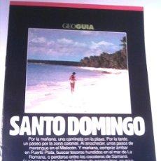 Coleccionismo de Revistas y Periódicos: GEO GUIA - SANTO DOMINGO - 1991. Lote 4455159