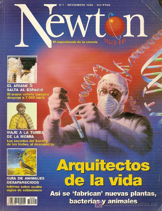 REVISTA 'NEWTON', Nº 7. NOVIEMBRE 1998. DIVULGACIÓN CIENTÍFICA. (Coleccionismo - Revistas y Periódicos Modernos (a partir de 1.940) - Otros)