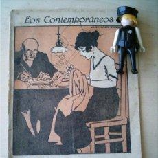 Coleccionismo de Revistas y Periódicos: REVISTA LITERARIA LOS CONTEMPORANEOS. 1-JUL-1920. EL PARADOR DE LUCIENTE. FERNANDO MORA . Lote 4676336