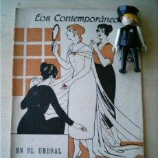 Coleccionismo de Revistas y Periódicos: REVISTA LITERARIA LOS CONTEMPORANEOS. 18-NOV-1920. EN EL UMBRAL. J. ORTIZ DE PINEDO . Lote 4676345