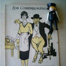 Coleccionismo de Revistas y Periódicos: REVISTA LITERARIA LOS CONTEMPORANEOS. 24-FEB-1921. LOS ENEMIGOS DEL ALMA VICENTE DÍEZ DE TEJADA . Lote 4676435