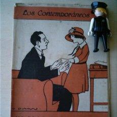 Coleccionismo de Revistas y Periódicos: REVISTA LITERARIA LOS CONTEMPORANEOS. 22-ABR-1920. NO ES LO MISMO. LUIS ANTON DEL OLMET . Lote 4676497