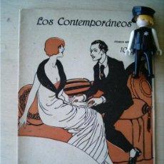 Coleccionismo de Revistas y Periódicos: REVISTA LITERARIA LOS CONTEMPORANEOS.4-NOV-1920. EL AMIGO AHORCADO. ADELA CARBONE . Lote 4676515